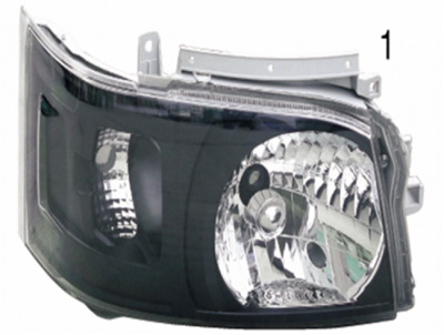 HIACE 05 HEAD LAMP Crystal black