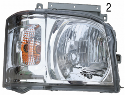 HIACE 05 HEAD LAMP Crystal white