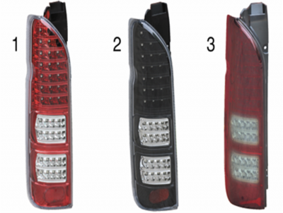 HIACE 05 TAIL LAMP FULL LED RED AND WHITE
