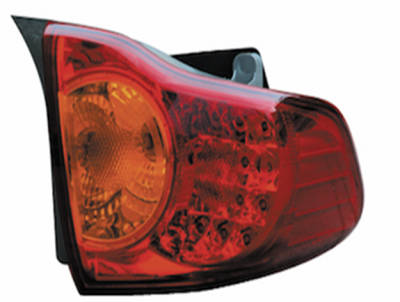 COROLLA 07-09 TAIL LAMP LED