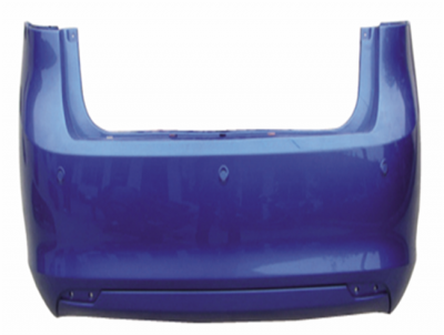 FIESTA 09 REAR BUMPER THREE COMPARTMENTED