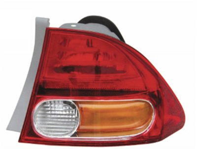 CIVIC 06 TAIL LAMP OUTER