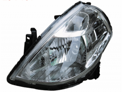 TIIDA 08 HEAD LAMP HALOGEN WHITE