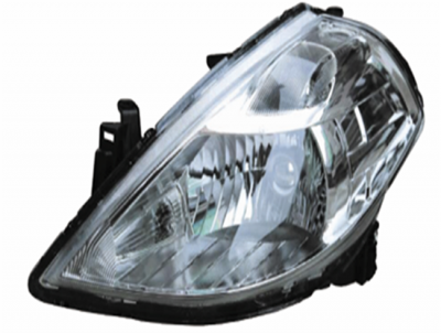 TIIDA 08 HEAD LAMP  HALOGEN BLUE
