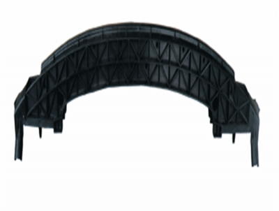206 FRONT BUMPER SUPPORT